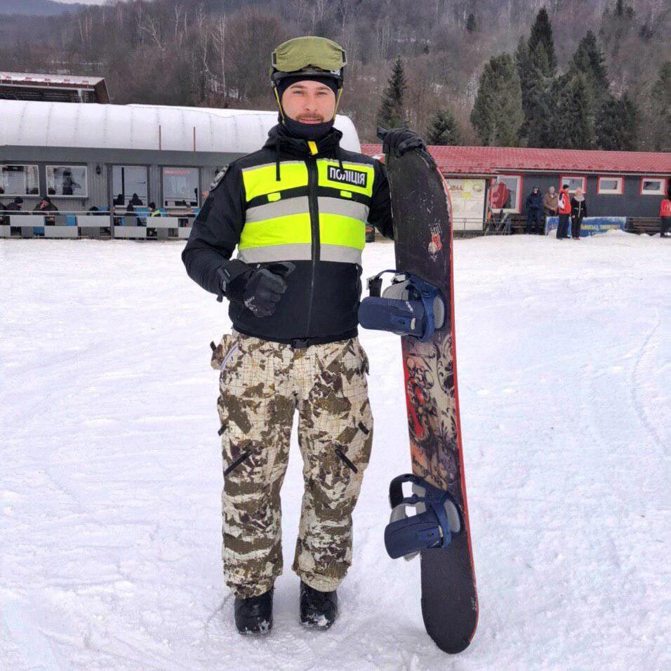 Перший в Україні лижний патруль запущено!